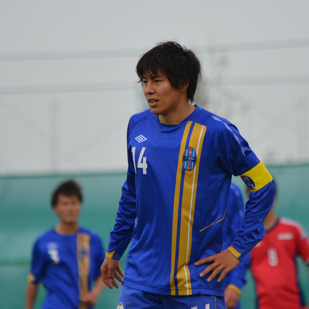 大学サッカーのすゝめ 脇坂泰斗(阪南大学)