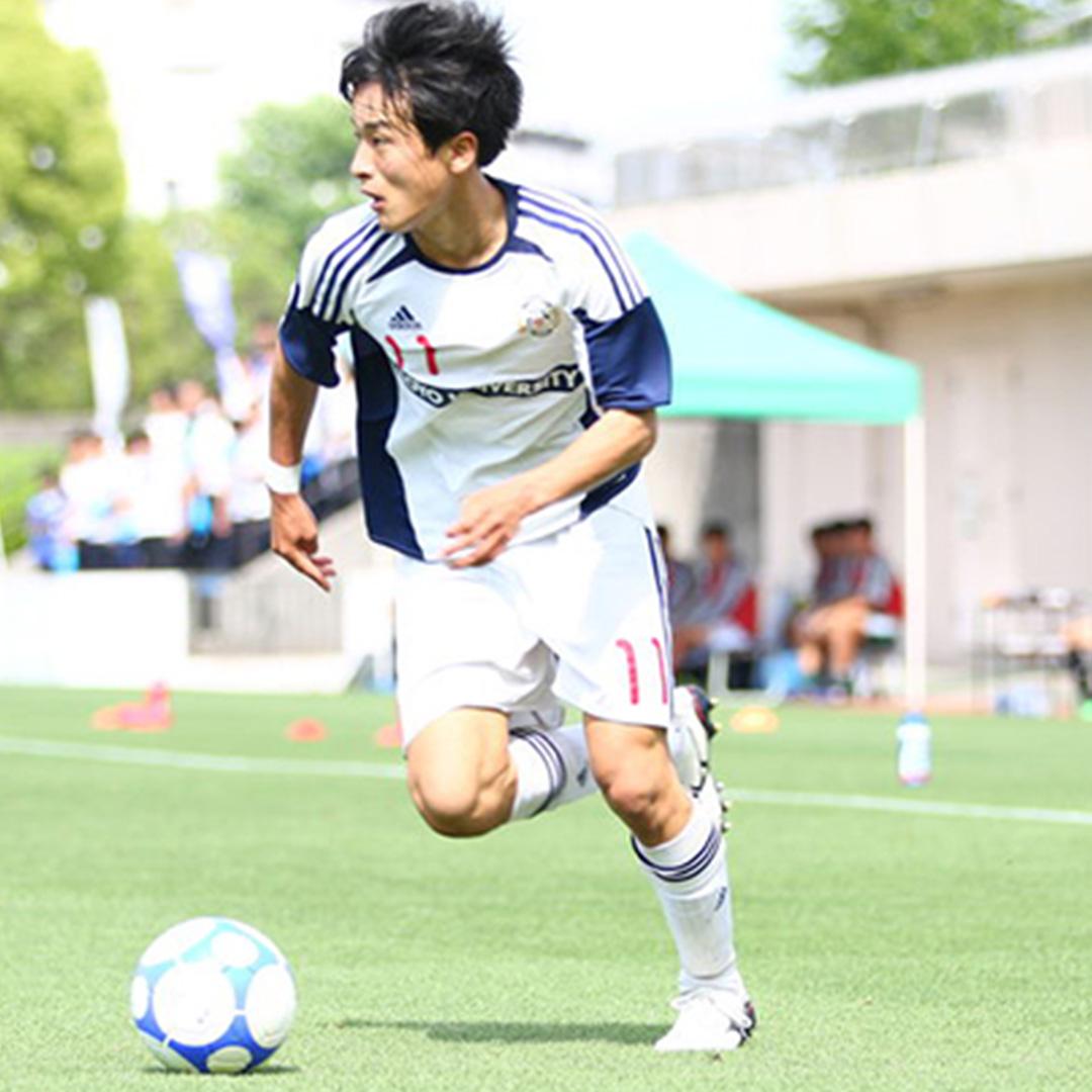 大学サッカーのすゝめ 坂元達裕(東洋大学)