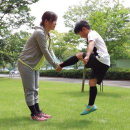 速く走るための5つの方法 Lesson2 速く走る身体をつくる親子トレーニング