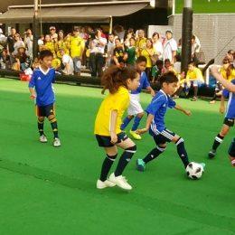 「子どもたちのワールドカップ」交流フットサルフェスティバル