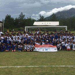 元サッカー日本代表が指導する「サッカーキャンプ 2018 in 桜島」が開催!