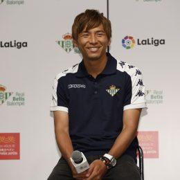 日本代表 乾貴士選手 レアル・ベティス入団会見実施!背番号は14番に決定!