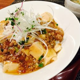 サカママレシピ ―あっさり★マーボー丼―