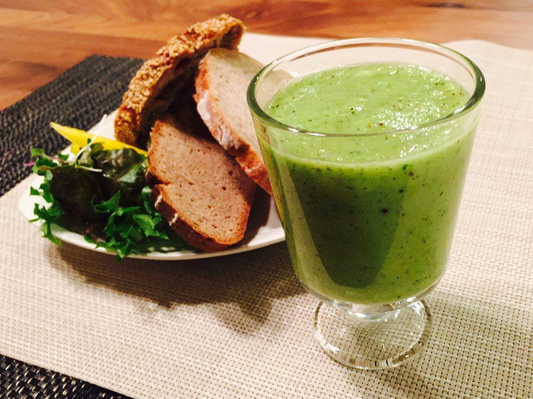 サカママレシピ ―酵素たっぷり★グリーンジュース―