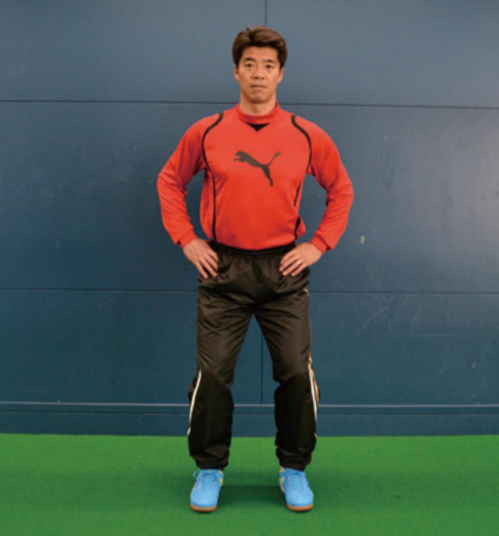 【体幹の鍛え方 ~vol.02~】プレーに生かせる立ち姿勢のトレーニング