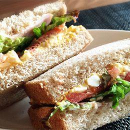 サカママレシピ ―クリームチーズ入りフレッシュサンド―