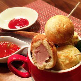 サカママレシピ ―お子さんと一緒に作ろう!!まんまるアメリカンドッグ―