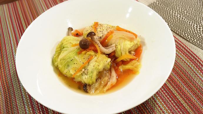 サカママレシピ ―ロール白菜―