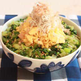 サカママレシピ ―朝ごはんの彩りどんぶり―