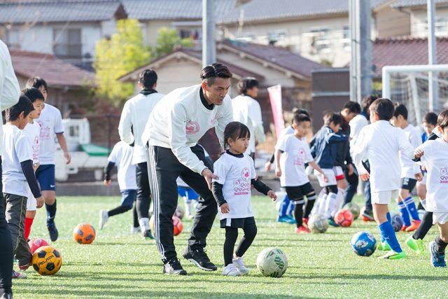 チャリティサッカースクール in 広島