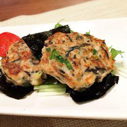 サカママレシピ ―海藻パワー!ひじきのフワフワハンバーグ―