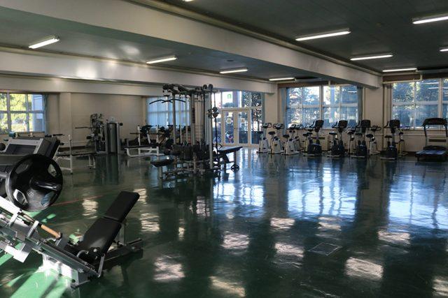 駒澤大学トレーニングルーム