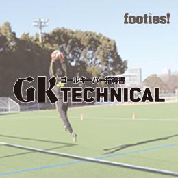 GK TECHNICAL ポジション移動からのクロス対応