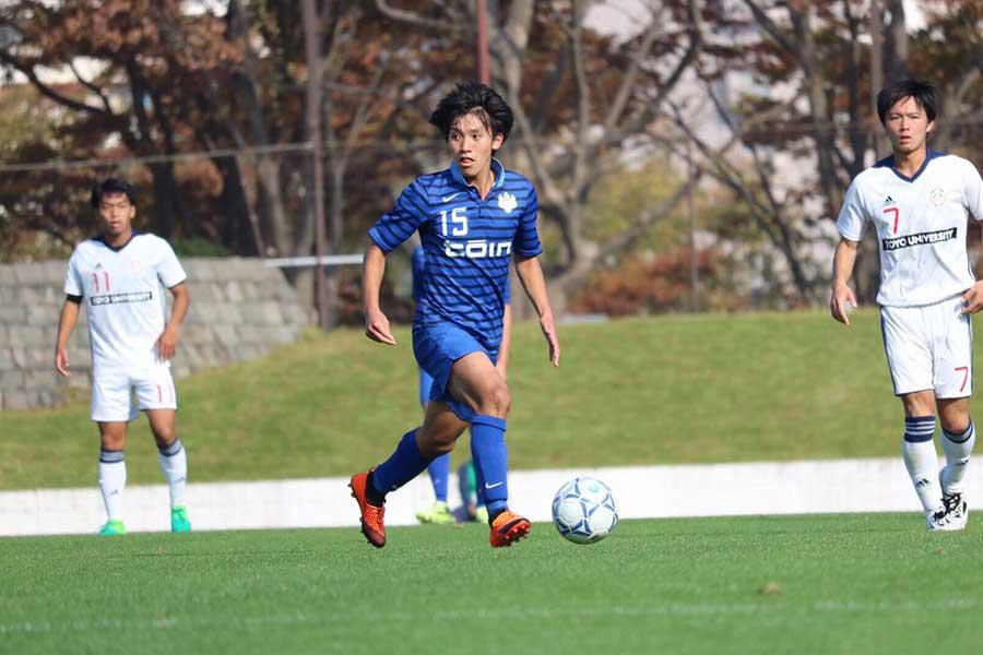 【大学サッカーのすゝめ 2019】vol.20 橘田健人選手(桐蔭横浜大学)