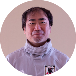 秋田県サッカー協会 高橋 淳さん