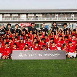 イニエスタ選手監修のサッカースクールが6月30日開校!