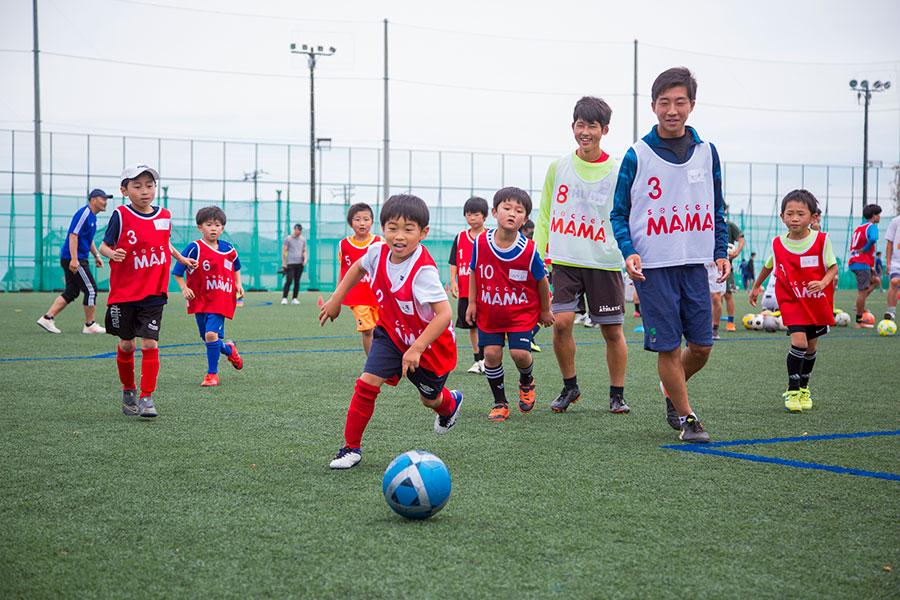 【高校生×サッカージュニア】<br>大東建託ふれあいサッカースクールin宮城