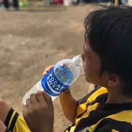 サッカージュニアの熱中症対策~対策編~ 水分摂取をうまく促す方法