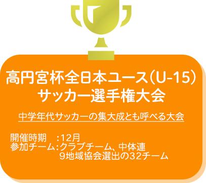 高円宮杯全日本ユース(U-15)サッカー選手権大会