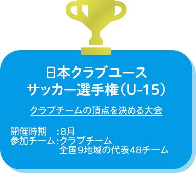 日本クラブユースサッカー選手権(U-15)
