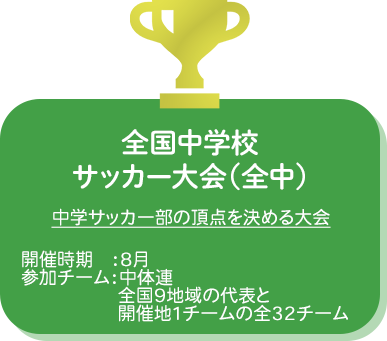全国中学校サッカー大会(全中)