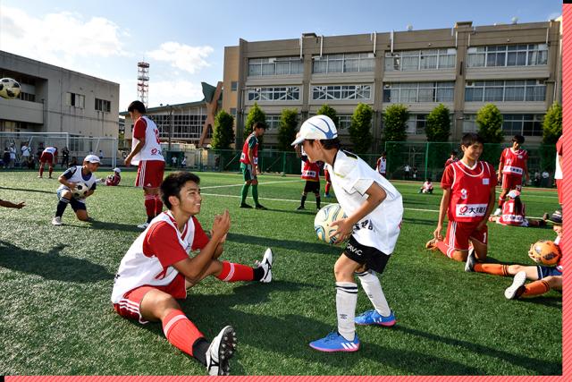 大東建託ふれあいサッカースクール