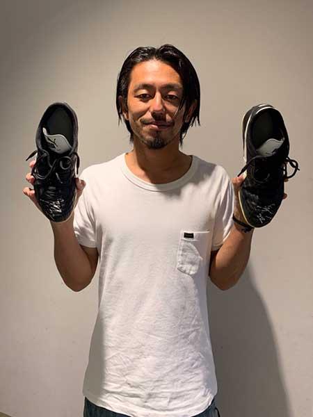工藤浩平選手 サイン入りスパイク