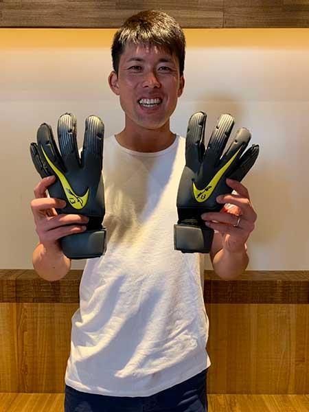 増田卓也選手 サイン入りグローブ