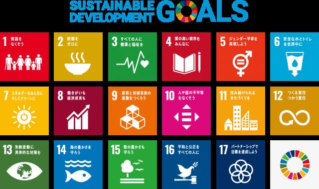 持続可能な開発目標(Sustainable Development Goals: SDGs)