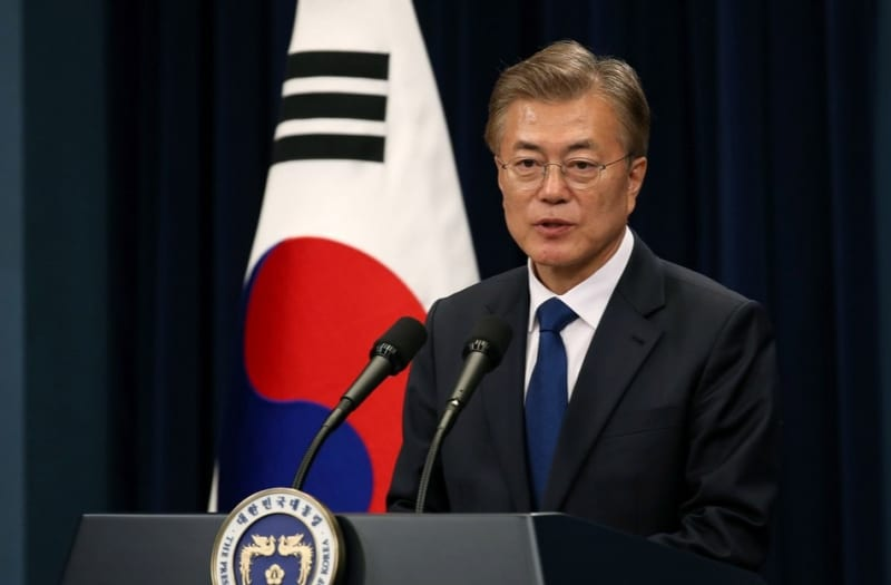 Official page of the Republic of Korea(cropped)-ShareAlike