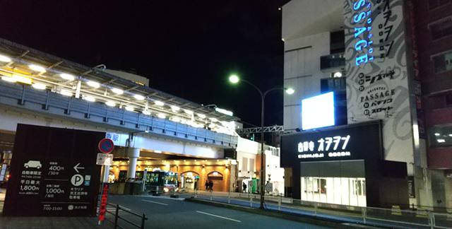 AQUOS sense 3 夜間撮影