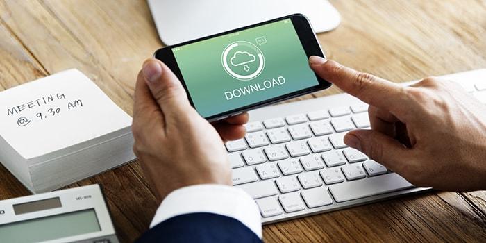 iPhoneで自動ダウンロードをオフにして格安SIMのデータ通信量を節約する