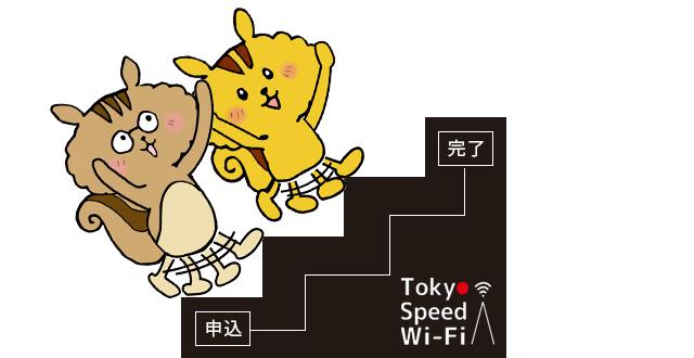 tokyo speed wifi申込手順