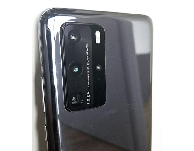 Huawei P40 Pro5Gの4眼カメラ