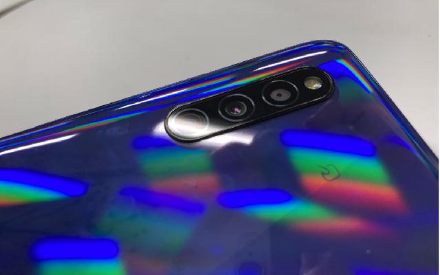 GalaxyA41 3眼カメラ