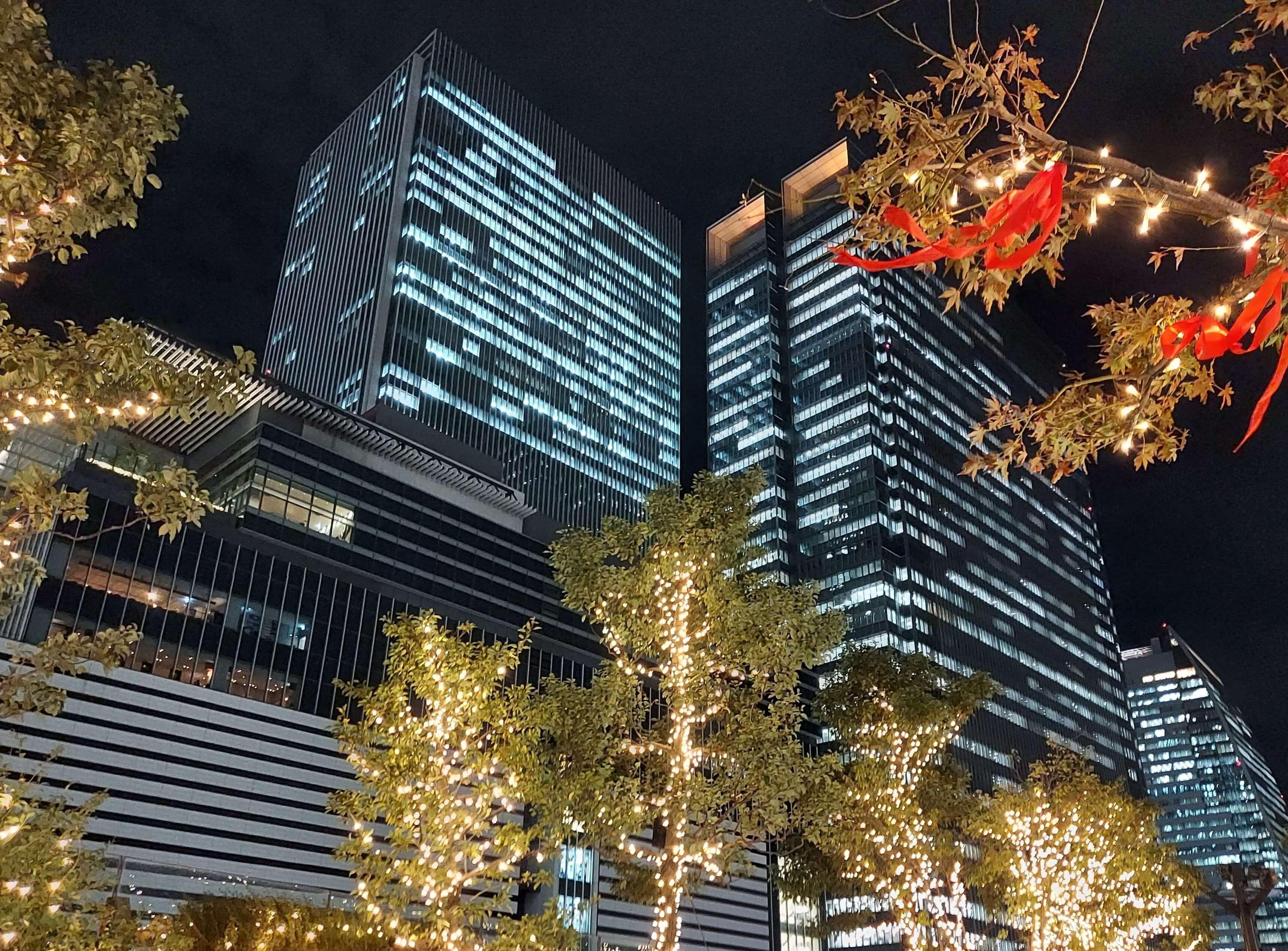 Galaxy A51 5Gの夜景写真1
