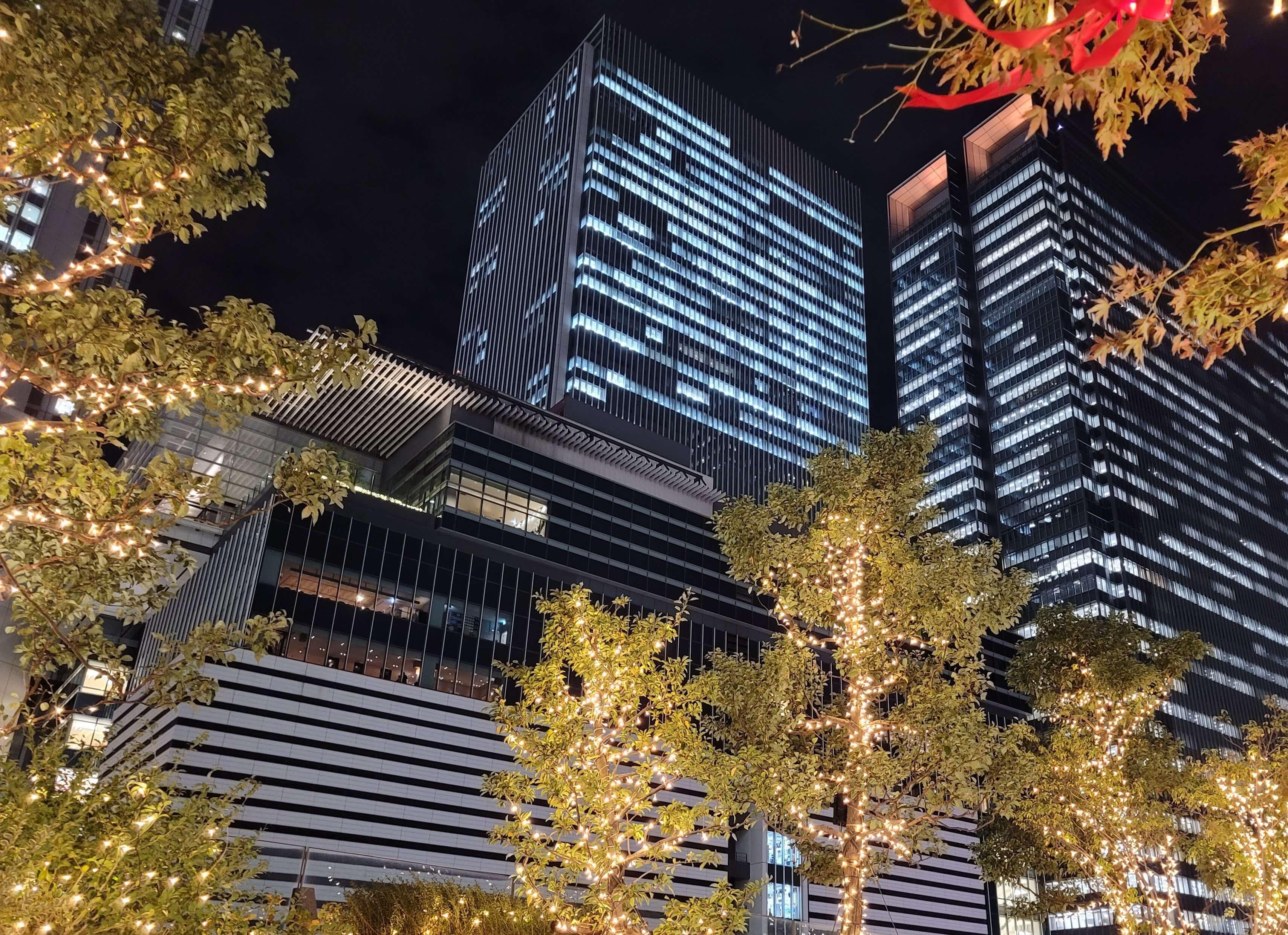 Galaxy Note20 Ultra 5Gの夜景写真2