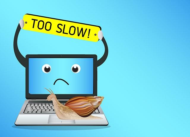 インターネットが遅いイメージ