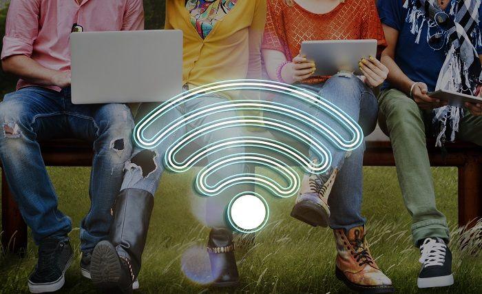 モバイルWi-Fiの使用イメージ
