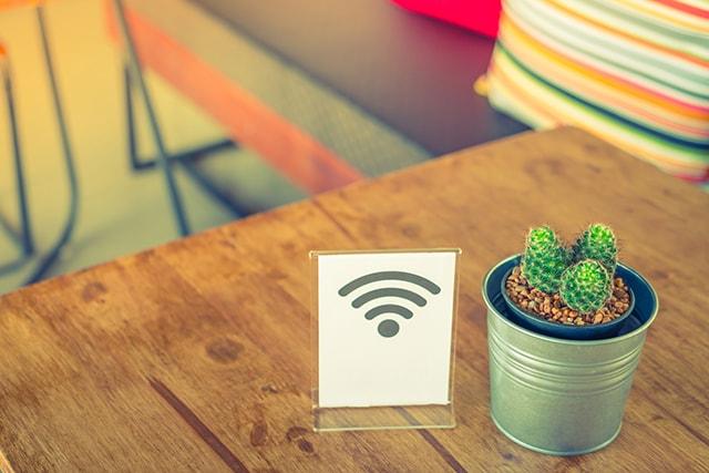 Wi-Fiスポットのイメージ