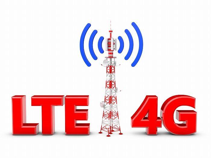 4G LTEのイメージ