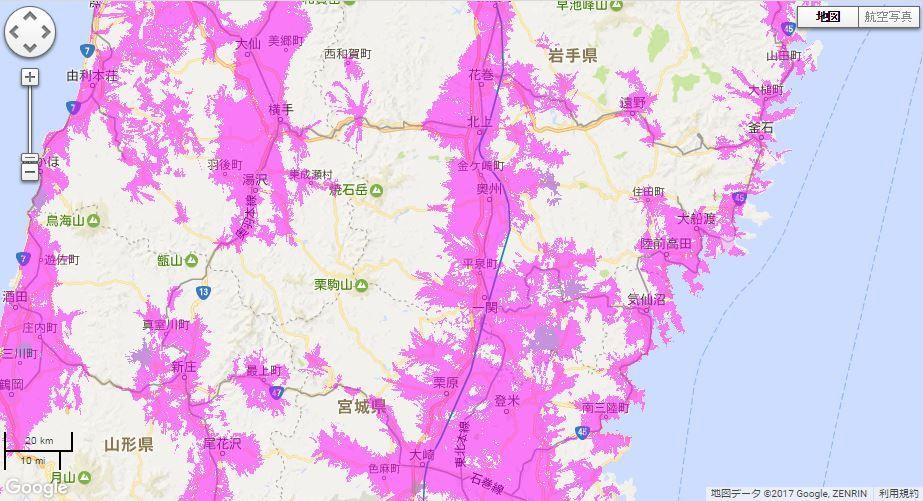 東北新幹線エリア
