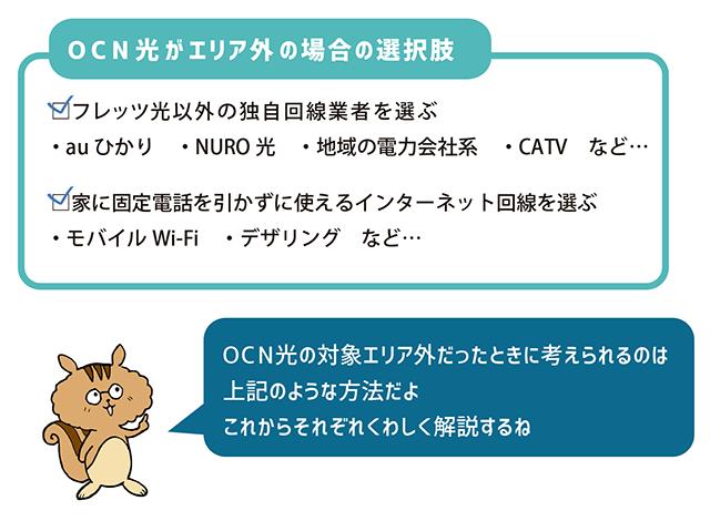 OCN光 エリア