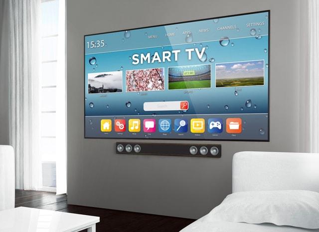 スマートTVが繋がったテレビ