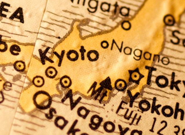 日本列島の東海地方