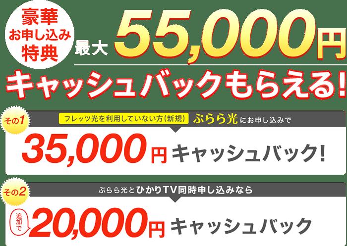 plala キャンペーン・特典
