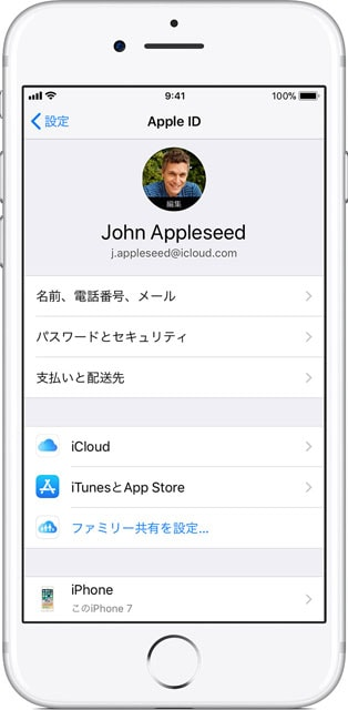 apple「Apple IDでサインインする」