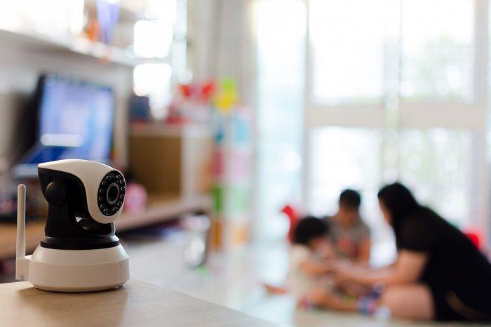 ネットワークカメラで自宅を確認