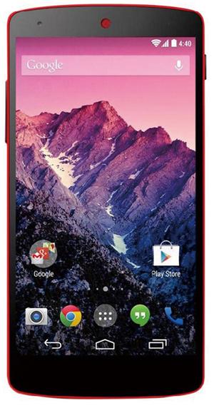 「Nexus 5」SIMフリー端末