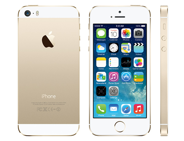 「iPhone 5s」SIMフリー版